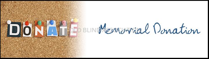 Memorial donation