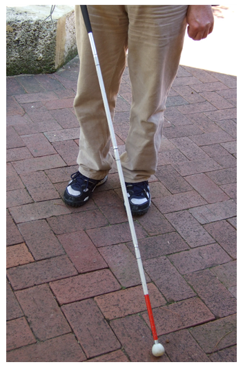 Man with a White Cane
