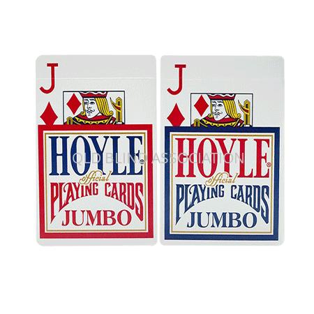 Hoyle Jumbo Index Large Print Cards Single Deck