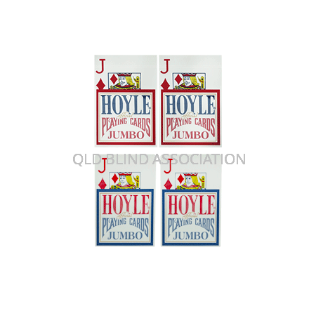 Hoyle Super Jumbo Cards - Double Deck