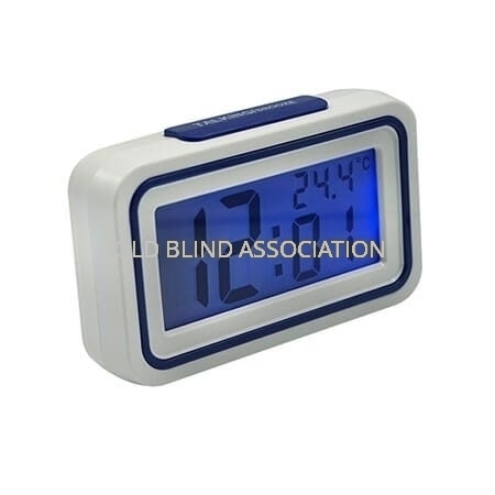 Talking Digital Clock With Alarm And Temperature