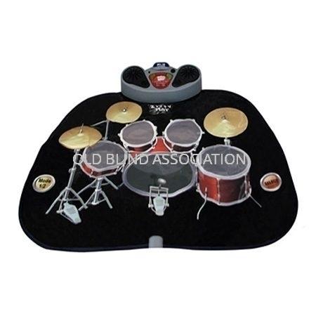 Drum Kit Audio Playmat