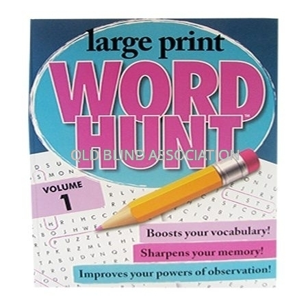 Large Print Word Hunt Volume 1