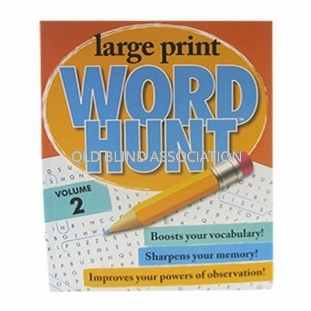 Large Print Word Hunt Volume 2