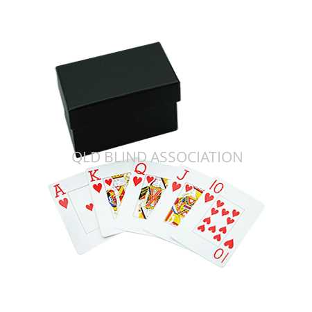 Hoyle LV Braille Jumbo Index Cards