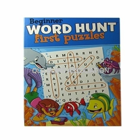 Beginner Word Hunt First Puzzles