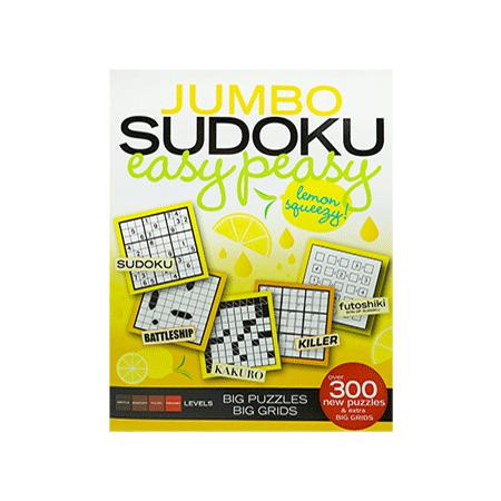 B349 Jumbo Sudoku Easy Peasy