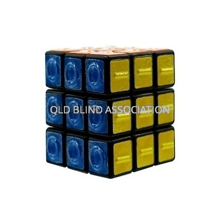 Rubix Cube With Tactile Markings