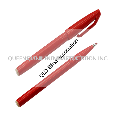 Pental Sign Pen Red