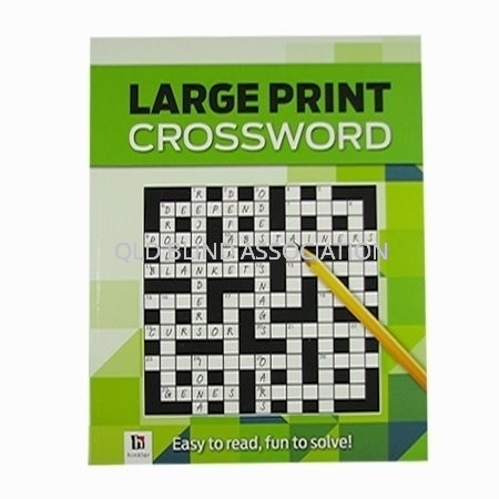 Large Print Crossword Number 4
