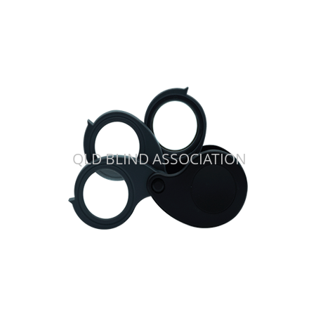 Triview Folding Loupe 3 Magnifier 2.5cm Diameter