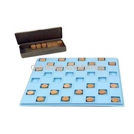 Plastic Checker Set