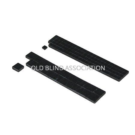 Peel N Seal Black Foam Squares Pack Of 110