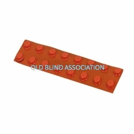 Bump Ons Small Orange Dots 5mm Pack Of 16