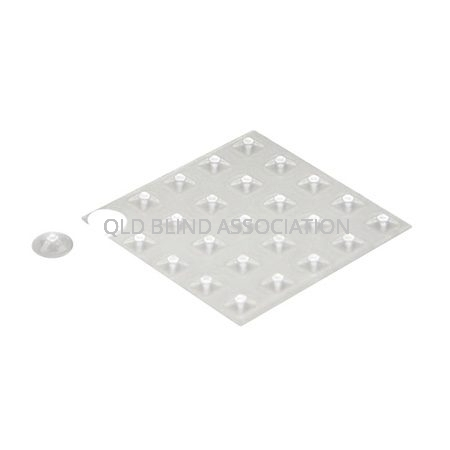 Bump Dots Large Clear Pyramid Pack Of 25