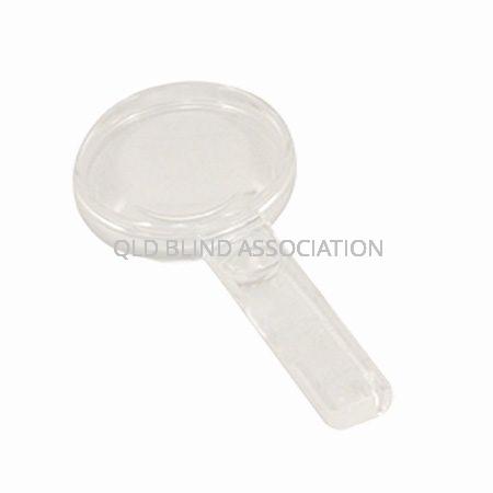 Handheld Magnifier 6cm 2.5x