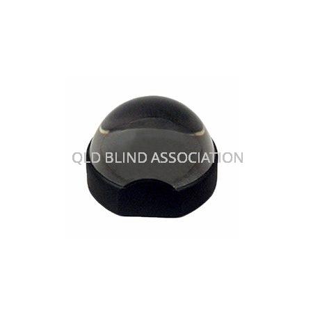 Solid Round Magnifier 6cm 3x