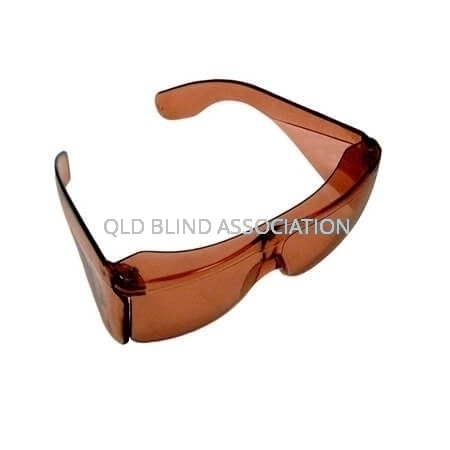 S40 UV Shield Small Fitover Amber 16%