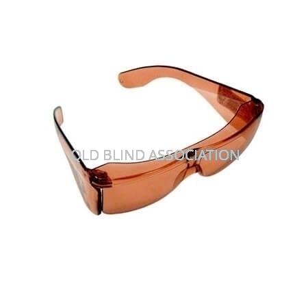 S47 UV Shield Small Fitover Topaz 40%