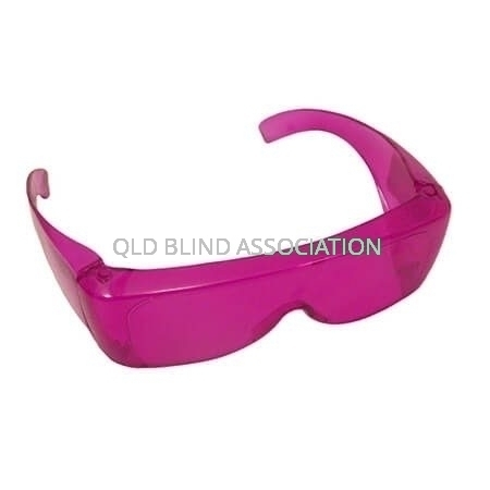 S70 UV Shield Small Fitover Pink 44%