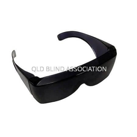 L22 UV Shield Large Fitover Dark Grey 13%