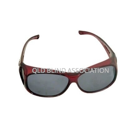 Element Claret Frame Grey Lens Fitover Medium