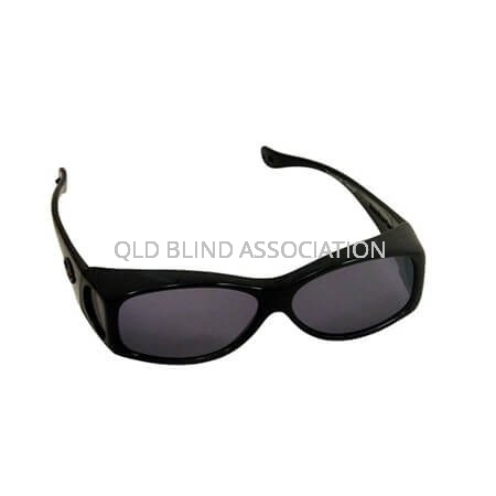 Glides Midnight Oil Frame Grey Lens Fitover Small