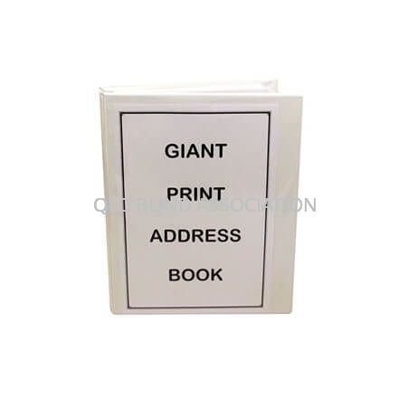 QBA Giant Print Address Book