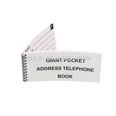QBA Giant Pocket Address Telephone Book