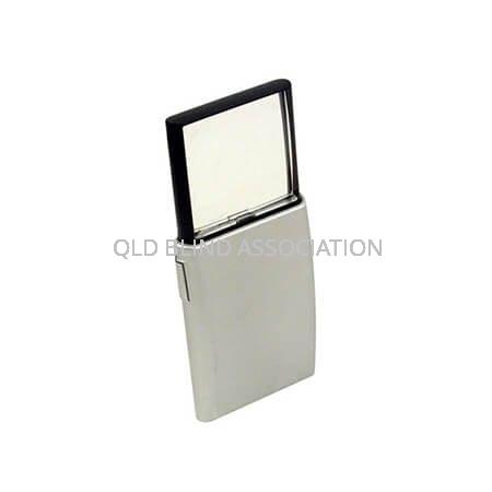 LED Popup Magnifier 5 x 5.5cm 2x