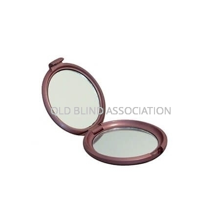 2x Double Sided Compact Mirror 5.5cm Diameter