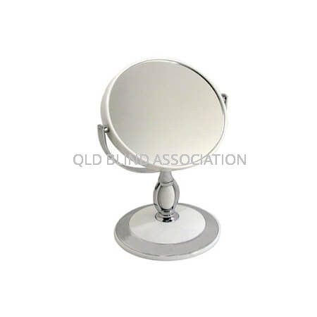 3x Vanity Mirror On Stand 11.5cm Diameter