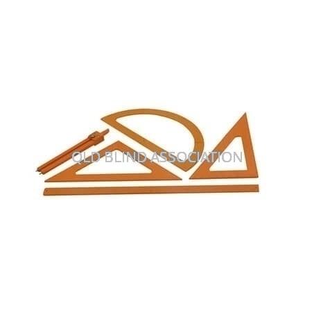 Tactile Metric Geometry Set