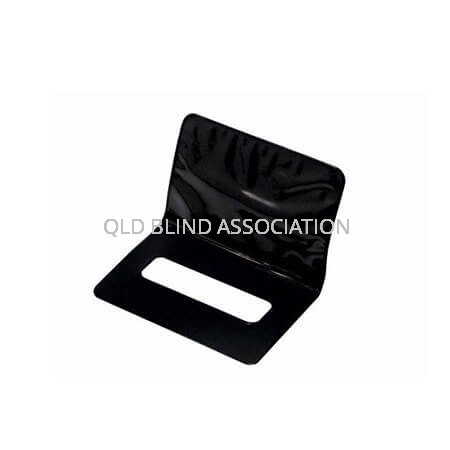 Signature Guide With Credit Card Holder