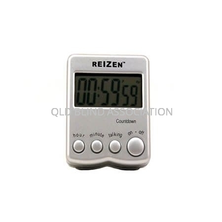 Talking Count Down Timer with Large Digital Display