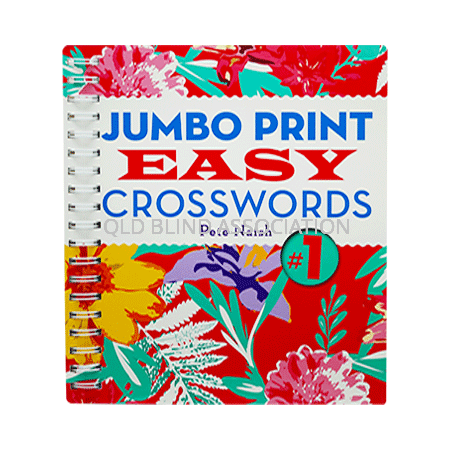 Jumbo Print Easy Crosswords Number 1
