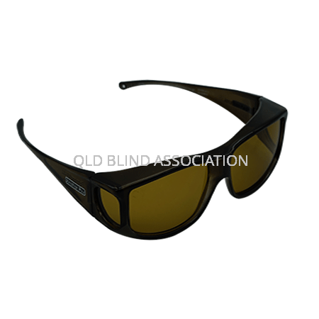 Jett Olive Charcoal Frame Yellow Lens Fitover Large