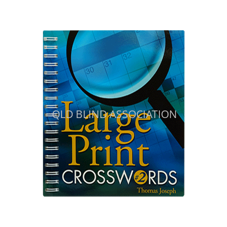 Large Print Crosswords No 2