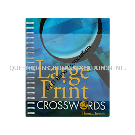 Large Print Crosswords Book 2nd Edition