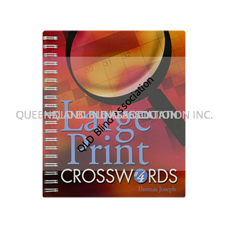 Large Print Crossword Book