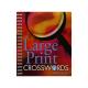 Large Print Crossword Book