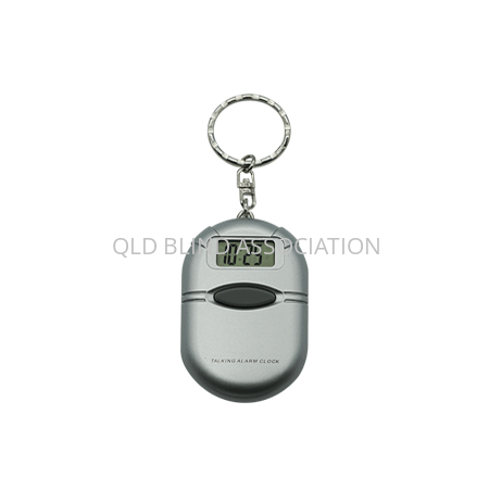 C0933-Talking-Keychain-Clock-Silver