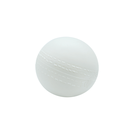White Cricket Ball with Bells