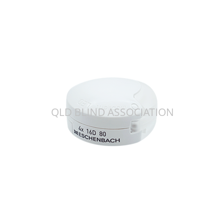 4x Mobilent LED Folding Pocket Magnifier