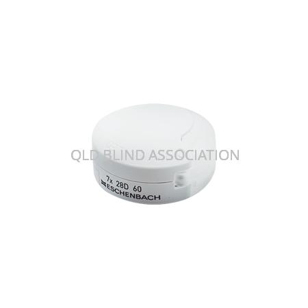 M111 7x Mobilent LED Folding Magnifier
