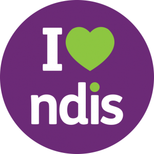I HEART THE NDIS graphic