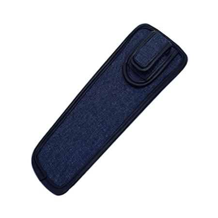 blue denim ID cane holster